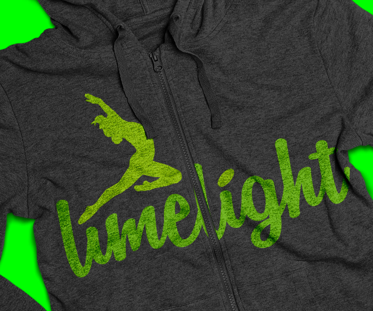 Limelight logo and Hoodie