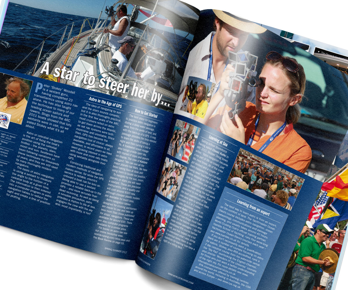 WCC and ARC – World Cruising Club Magazine